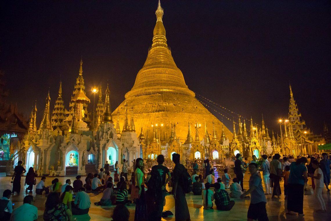 Temple de Birmanie
